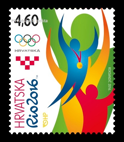 "Postage stamp on the occasion of Olympic Games ""Rio 2016"""